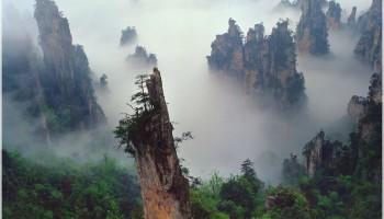 黄石寨、金鞭溪、袁家界、天子山、黄龙洞、三日游